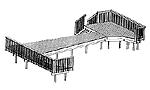 Pool Deck - 12' x 30'